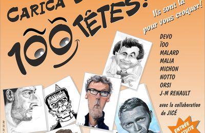 4è salon de la caricature « Carica-Sonne Cent Têtes ! », à Carcassonne (13 et 14 mai 2017)