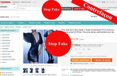 Aliexpress.com, l'eldorado de la contrefaçon
