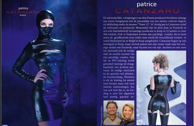 Patrice Catanzaro dans le magazine Massad