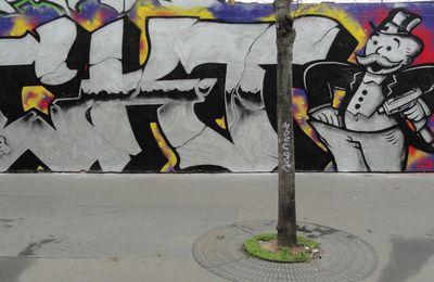 Street Art : Graffitis & Fresques Murales 75018 Paris