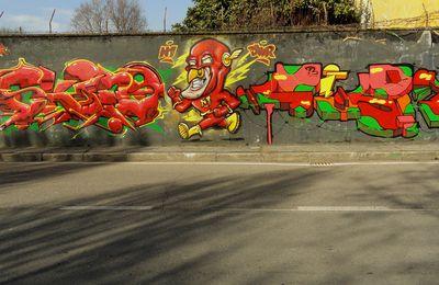 Street Art : Graffitis & Fresques Murales Corsico Milano (Italy)