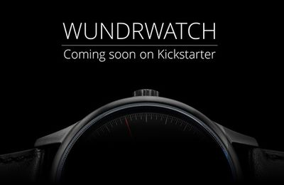 Wundrwatch coming soon on kickstarter