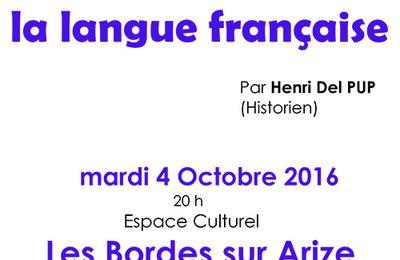 Aux origines de la langue française