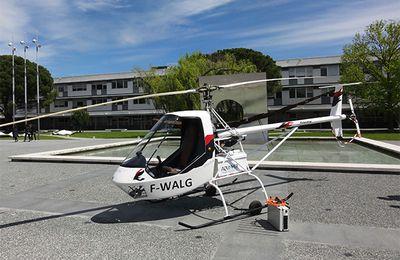 Vol inaugural de l'hélicoptère tout électrique VOLTA