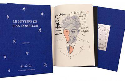 Manuscrit d'exception: Le mystère de Jean l'Oiseleur de Jean Cocteau