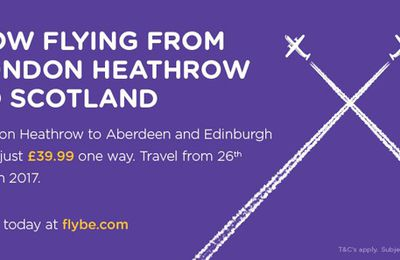 Flybe launching two new routes between Scotland and Heathrow