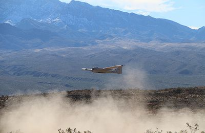 Mesquite, Nevada - A Desert Oasis for Testing Big UAS