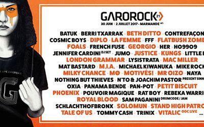 32 nouveaux noms s'ajoutent à la programmation de Garorock !