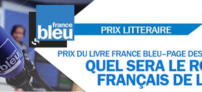 FRANCE BLEU | Prix du livre France Bleu - Page des libraires : les romans sélectionnés