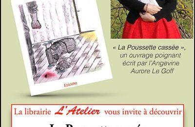 Aurore Le Goff séance de dédicaces à SAINT MATHURIN SUR LOIRE (Maine-et-Loire)