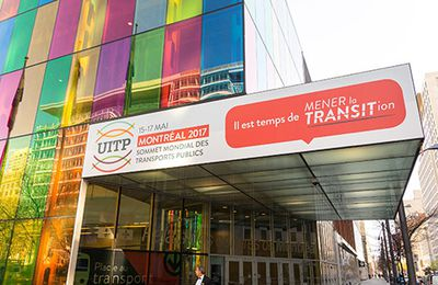 UITP Global Public Transport Summit at the Palais des congrès de Montréal
