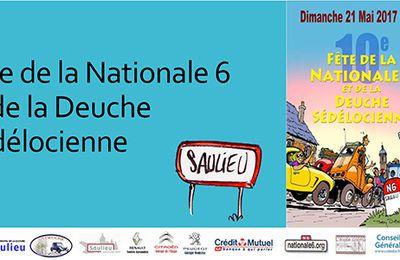 Fête de la RN6 et Deuche Sédélocienne à Saulieu (21) le dimanche 21 mai
