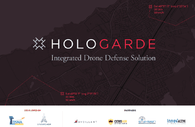 Hologarde, une solution unique de détection de drones à longue distance