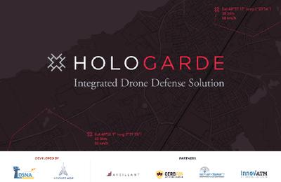 Hologarde, une solution unique de détection de drones à longue distance