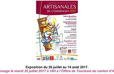 Artisanales du Comminges 2017