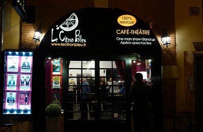 Le Citron Bleu : café-théâtre 100 % humour à Toulouse