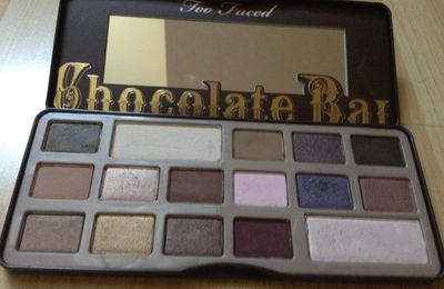 Chocolate Bar de chez Too Faced 🍫