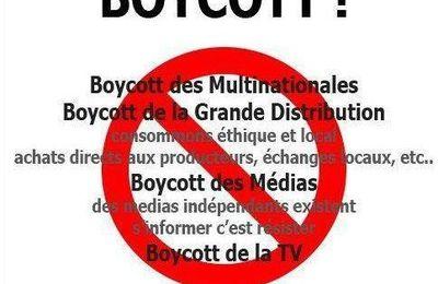 Le boycott, une arme fatale légalement interdite!!!