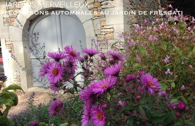 Floraisons automnales au Jardin de Frescati