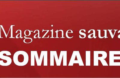 Sommaire - Le Magazine sauvage