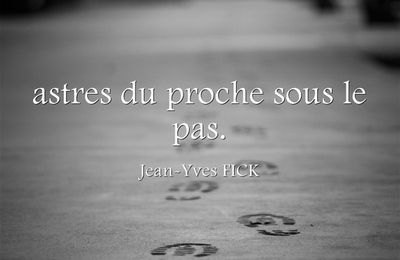 Fulguration - Jean-Yves Fick