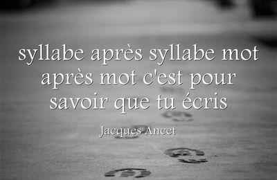 Fulguration- Jacques Ancet