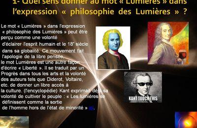 Voyage virtuel d'Adriana et Lara à travers la philosophie des Lumières
