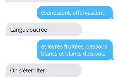 SMS - Loïc Demey