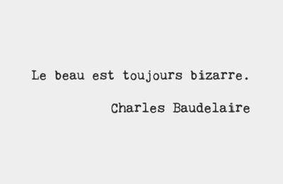 Charles Baudelaire - Ma phrase préférée