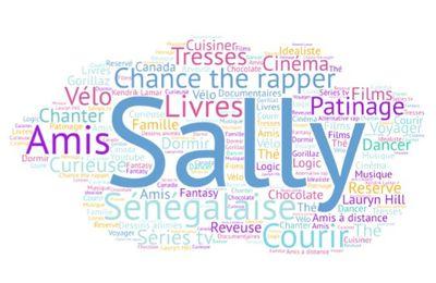 Autoportrait sur un nuage - Sally
