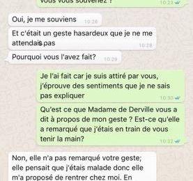Stendhal - Chat entre Madame de Rénal et Julien