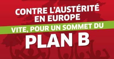 Sommet pour un Plan B en Europe les 14 et 15 novembre à Paris