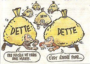 La dette agitée pour que le peuple ait peur : STOP à l'enfumage !