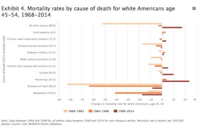 États-Unis - Pourquoi la classe ouvrière blanche se révolte : le néolibéralisme est en train de la tuer… littéralement (Truth Dig)