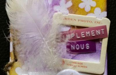 """Mini kit """"Crée-le-toi-même"""" - Février 2015 : Ma créa!"""