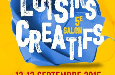Salon de Poissy ce week-end avec Lilly Pot'Colle + Bingo Tirage N°9