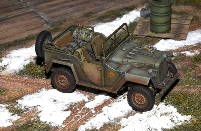 jeep willys 1944 montage maquette tamiya 1 48 scalefighters. Black Bedroom Furniture Sets. Home Design Ideas