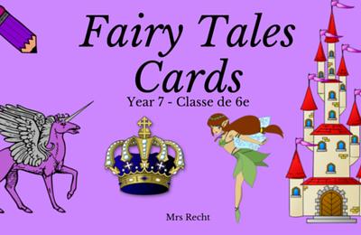 Fairy Tales - Ecriture Créative