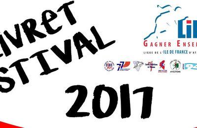 Le livret des compétitions estivales LIFA 2017 (régional) est sorti !