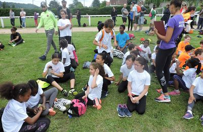 Le samedi après-midi 7 octobre 2017 : Kid athlétique de rentrée pour les Eveils et Poussins ; RDV à 13 h 00 à Palaiseau