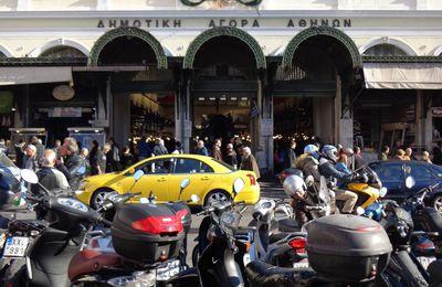 Marché central d'Athènes et autres petits plaisirs