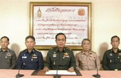 Situation actuelle Thaïlande