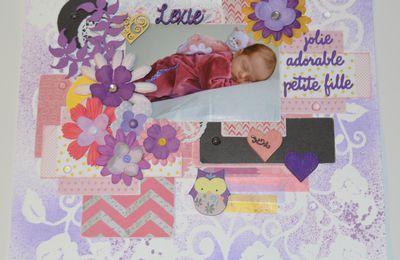 Scrap de ma petite fée violette