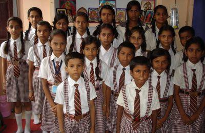 Enfants scolarisés par l'association : année scolaire 2014 – 2015
