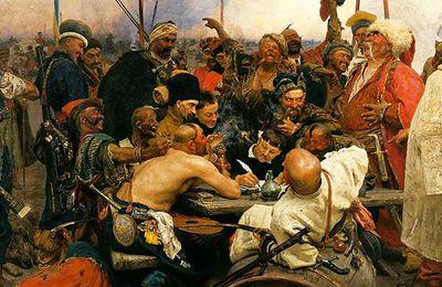 Les cosaques zaporogues et Guillaume Apollinaire.