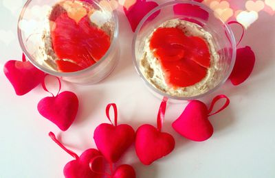 mini-cheesecake salate con salmone e rucola