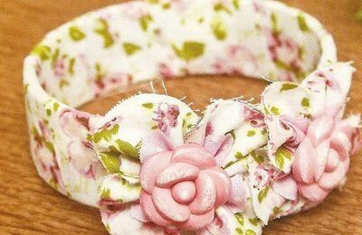 DIY : Bracelet en tissu