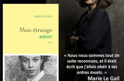 Rencontre avec Marie Le Gall