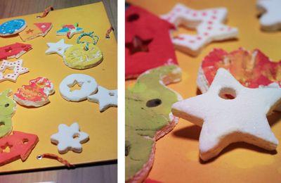 Cadeaux des enfants - Pâte à sel blanche