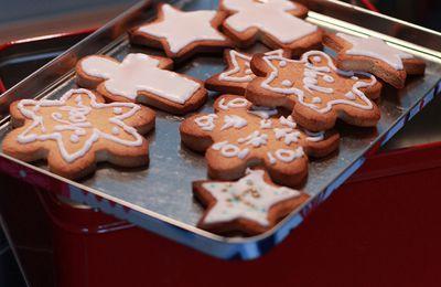 Gourmandises de Noël - Popcake et sablés